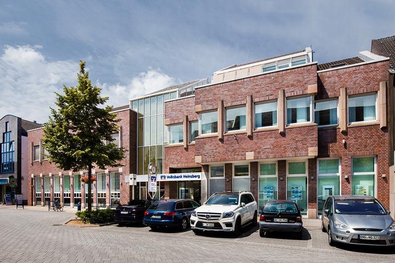 Volksbank Heinsberg eG, Kompetenzzentrum Heinsberg - Hochstaße 112 - 114, 52525 Heinsberg