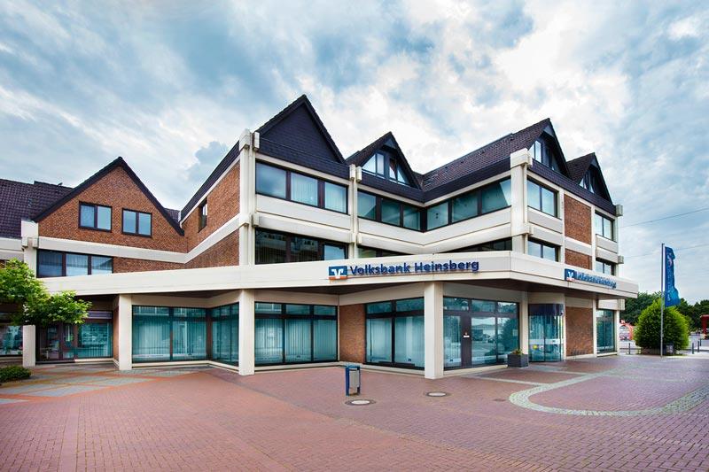 Volksbank Heinsberg eG, Kompetenzzentrum Geilenkirchen, Haihover Straße 16 - 18, 52511 Geilenkirchen