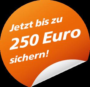 Bis zu 250 Euro Empfehlungsprämie sichern