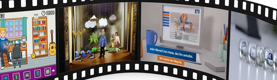 Videothek - Erklärfilme - Finanzthemen verständlich erklärt